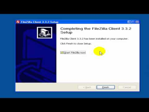 Build A Website With A Shopping Cart - Download Filezilla - Video 8