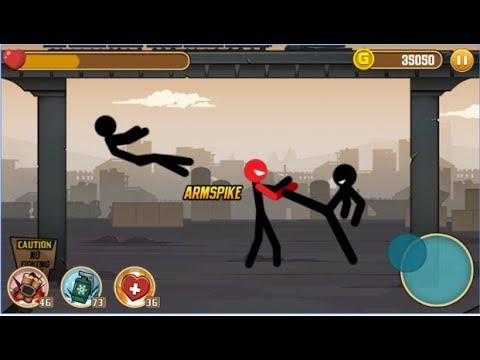 Stickman Fight / Shooting Adventure Amazing Stunt / Android Gameplay Video #2