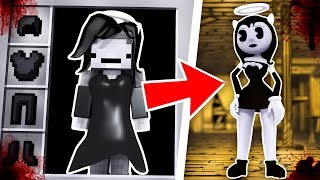HOW TO BECOME ALICE ANGEL FROM BENDY AND THE INK MACHINE - Minecraft BATIM
