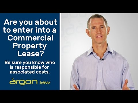 Understanding Costs Associated with a Commercial Lease | Legal Advice from a Sunshine Coast Lawyer