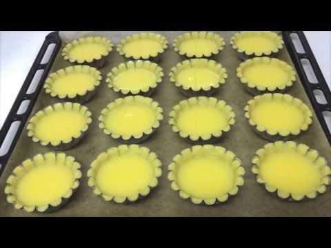 Easy Egg Tarts Recipe (Stop Motion)