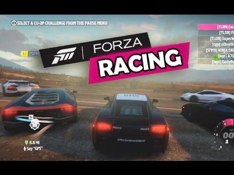 Forza Horizon - Free Roam Racing and Crazy Glitch!