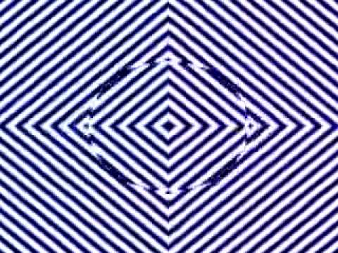 Optical illusion that makes everything blurry