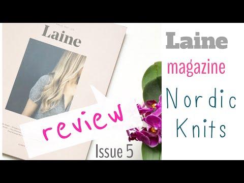 Laine Magazine Review - Nordic Knit Magazine | TeoMakes