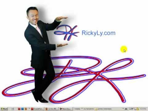 How to create Motion Tween using Adobe Flash CS5.5 by Ricky Ly Pt. 2--How to change the path.mp4