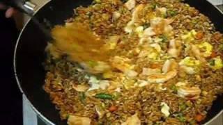 How To Make Fried Rice - Shrimp Fried Rice - Authentic Chinese Style - Fast & Easy Recipe