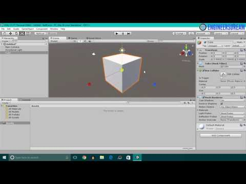 7. INTRO TO UNITY TABS | BUILD VIRTUAL REALITY GAMES FOR GOOGLE CARDBOARD USING UNITY