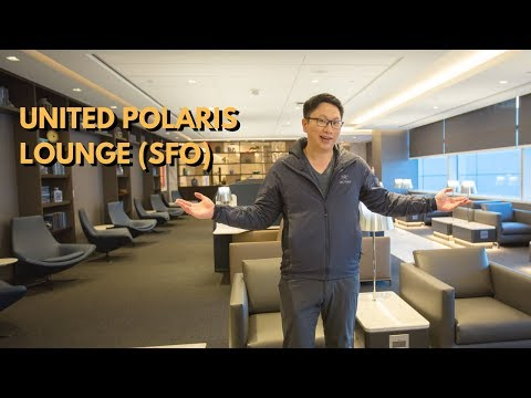 NEW United Polaris Lounge at SFO Review: 28k sq ft + Dining Room