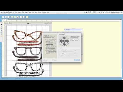 how to set up SVG files to print and cut in Sure Cuts A Lot 3 - SCAL software