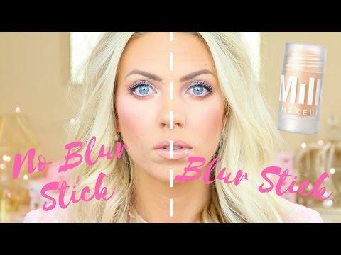 SKIN BLURRING PRIMER | Milk Blur Stick Demo, Review & Wear Test on Oily/Acne Prone Skin