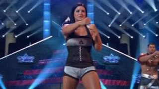 Gina Carano American Gladiators workout