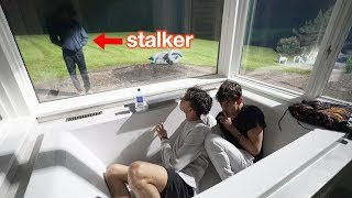 We Caught The Stalker Who's Been Watching Us..