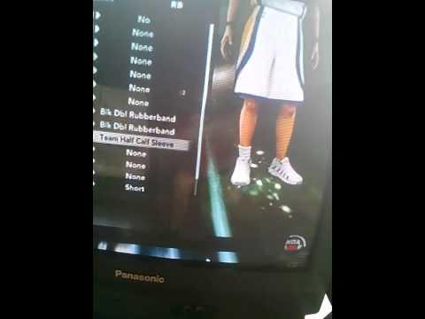 NBA 2k11 long leg sleeve glitch no computer