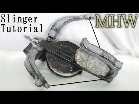Monster Hunter World - Slinger Tutorial [How to make props]