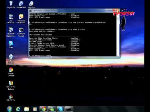 Some tips on how to Speed up your wireless (wifi) network in Windows 7 and Vista