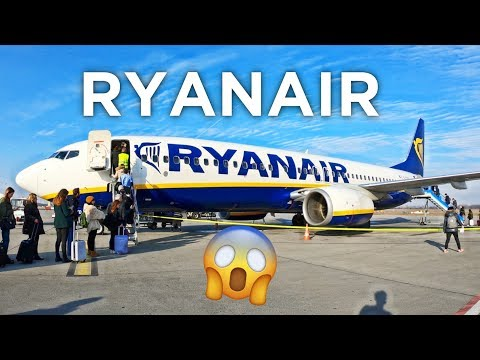 MY $20 FLIGHT ON RYANAIR! | 737-800 Budapest - Milan - Prague | ECONOMY WEEK