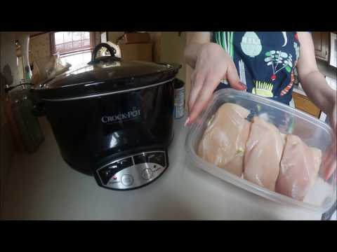 Slow Cooker: Shredded Chicken