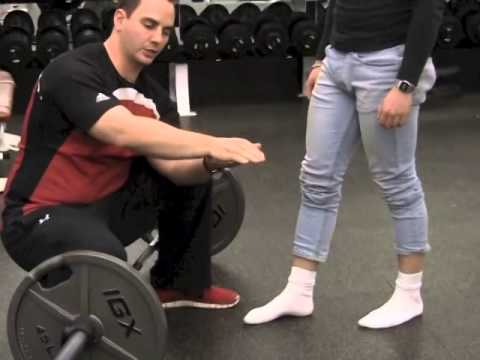 foot arch and deadlifts