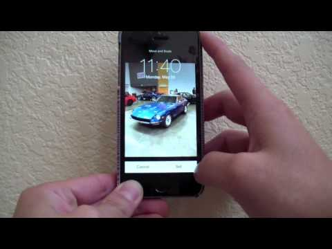 HACKED:  Apple iPhone 5S Wallpaper Crop-Scale Trick | iOS 7.1.1 2014 | Part 3