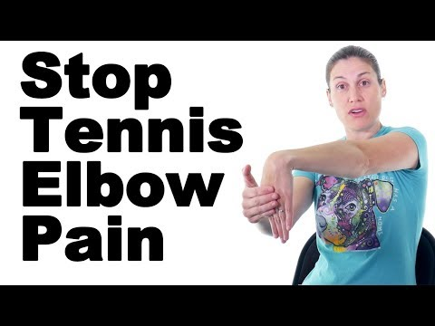 7 Best Tennis Elbow Pain Relief Treatments (Lateral Epicondylitis) - Ask Doctor Jo