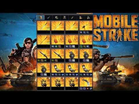 Mobile Strike MODDING & ENHANCING ANNIVERSARY GEAR SET - MY STATS!