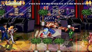 Streets of Rage Z 2 (OpenBoR) Tia Langray (Axel replacement