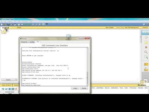 Cisco Packet Tracer Tutorial for Dynamic Host Configuration Protocol (DHCP)