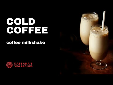 cold coffee recipe recipe - how to make cold coffee | coffee milkshake