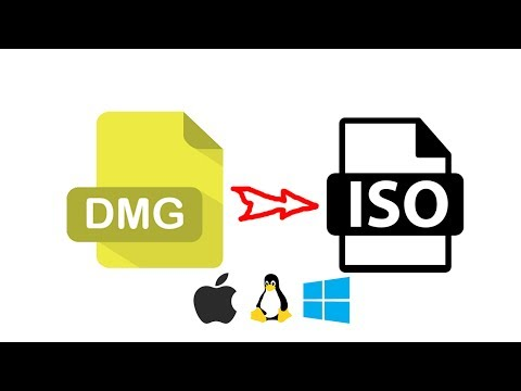 [easy] - How to convert dmg file to iso file in windows 10/8/7