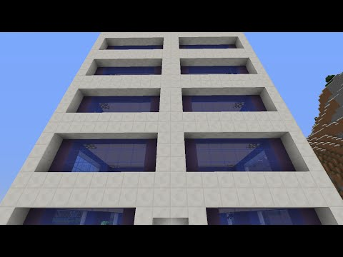 How to Build an Apartment Building in Minecraft