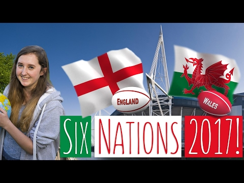Wales v England Six Nations Vlog!