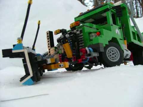Lego Snow Plow (Pictures)