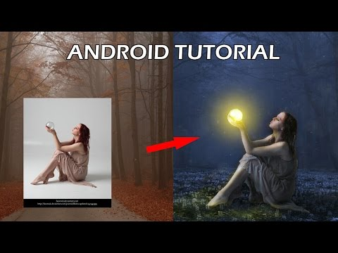 Cara Edit Foto Magic Light di Android - Photo Manipulation - Tutorial Picsart Indonesia