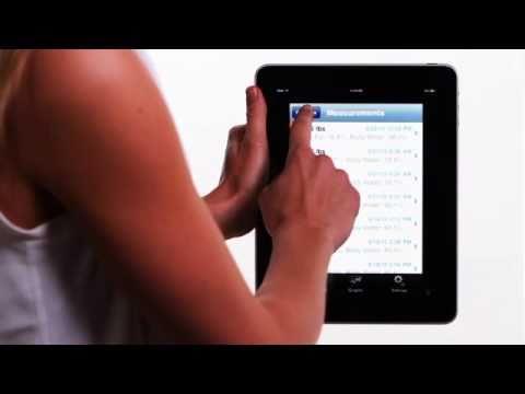 Tanita BC1000 to iPad iPhone iPod Touch w/ WiFi Converter