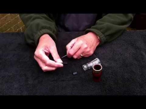MPK Custom Calls instruction video 5 - Short reed Canada goose call maintenance
