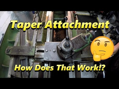 Taper Attachment & How It Works
