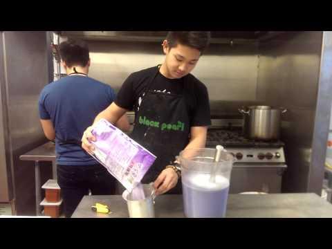 how to make dat TARO MILK TEA.
