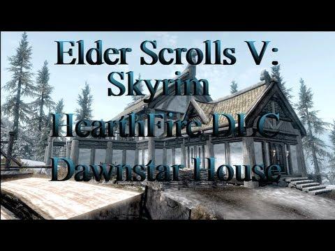 Skyrim:Hearthfire DLC: Dawnstar Mansion (Finished)