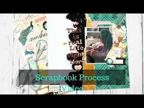 Scrapbook Process-Clique Kits Story Focus