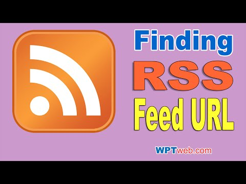 RSS Meaning? Finding RSS Feed URL On Your Website - WordPress Tutorial 15