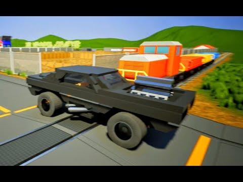 Lego Car Trailer DESTROYED - Brick Rigs