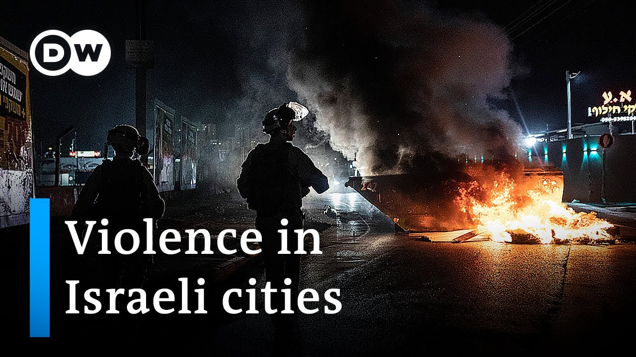 Israeli cities are facing increasing incidents of mob violence | DW News