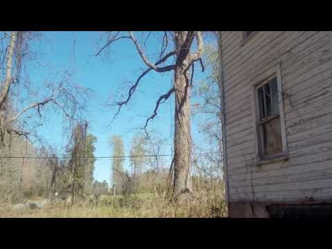 Old Abandoned Farmhouse in the woods! w/outhouse