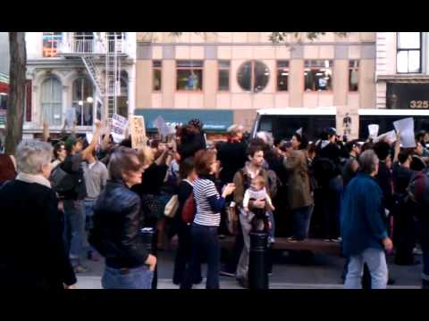 Occupy Wall Street Oct 05 2011 Federal Plaza NYC part 1