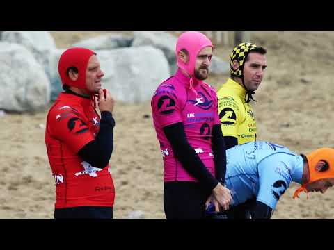Inaugural Slyde Handboards UK Bodysurfing Championships Fistral Beach