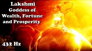 Lakshmi - Goddess of Wealth, Fortune and Prosperity (1hr/432hz meditation)