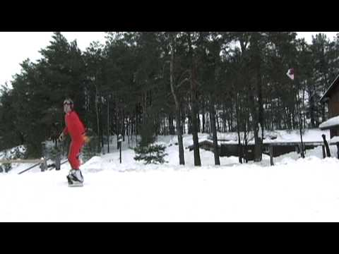 Cross Country Snowboarding
