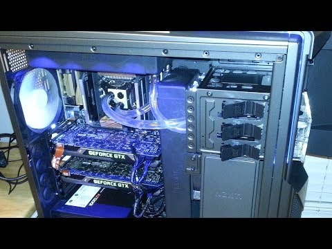 How to Build a Gaming PC with a Custom Water Cooling Loop: Step by Step Guide, $4000 Enthusiast