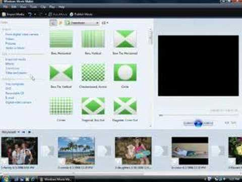 Create a cool slide show in Windows Movie Maker