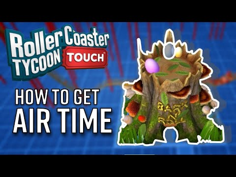 How To Get Air Time on RollerCoasters | RollerCoaster Tycoon Touch | RCT Touch